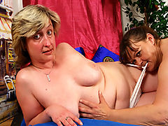 Alena & Jarka are plump and round mature babes who have traded in their husbands